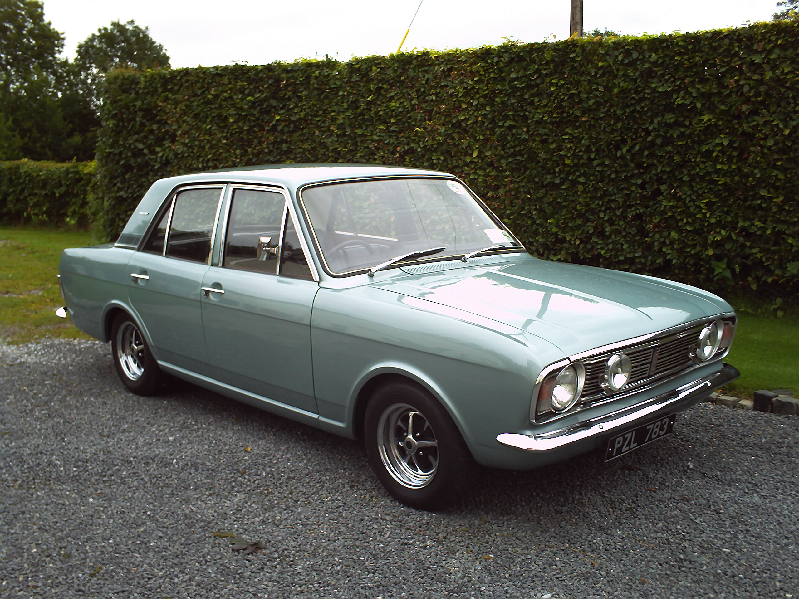 Ford Cortina MKII 1600E tuned@