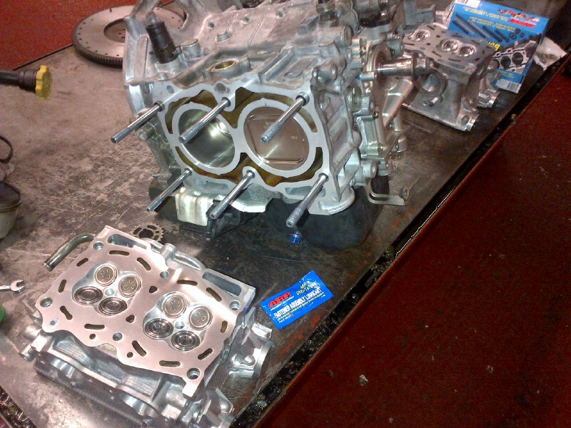 Subaru Engine Build