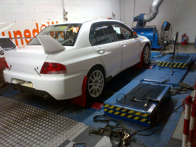 Evo ready for the Rally of the Lakes