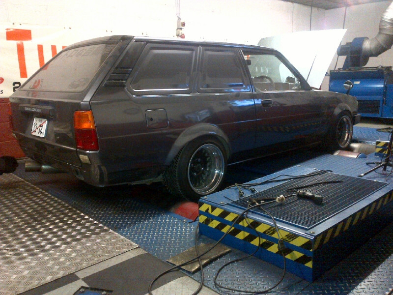 Toyota in for tuning...