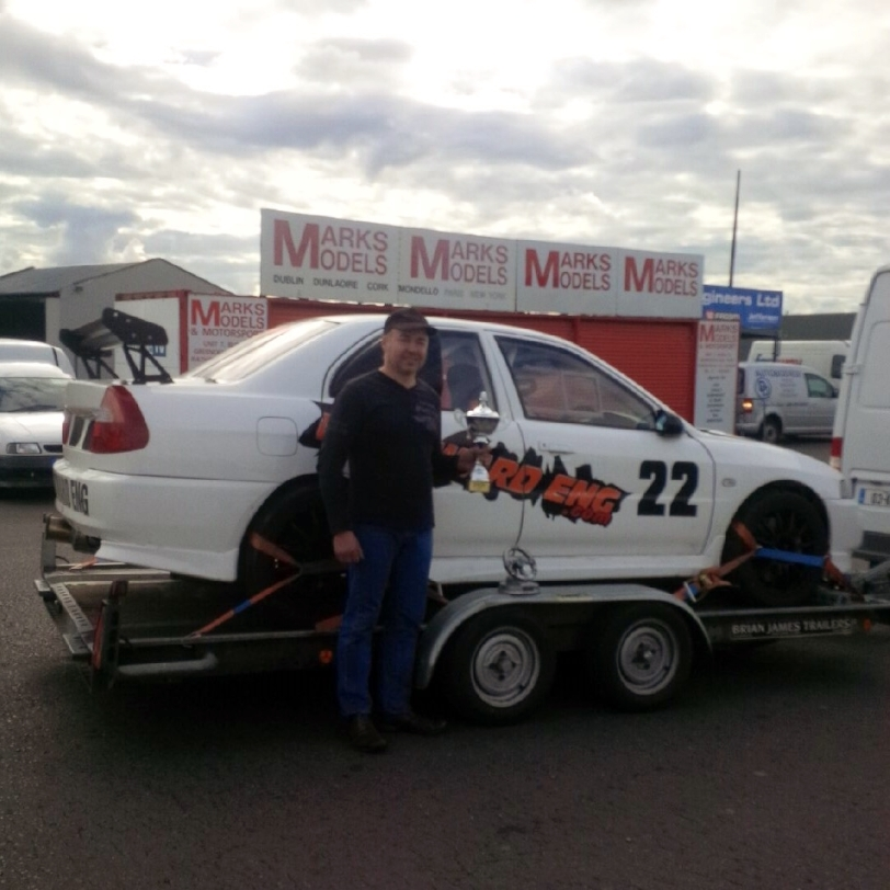 Martin Tracey - Rally Sport Association Class 8 Champion 2014