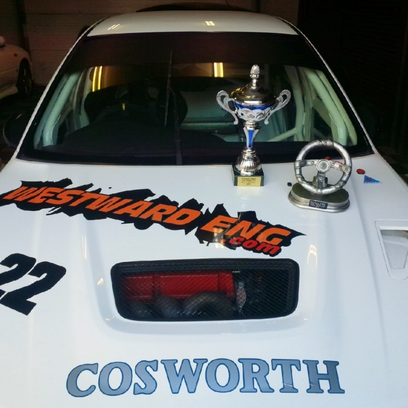 Martin Tracey - Irish RallySport Association Grand Prix Overall Champion 2014