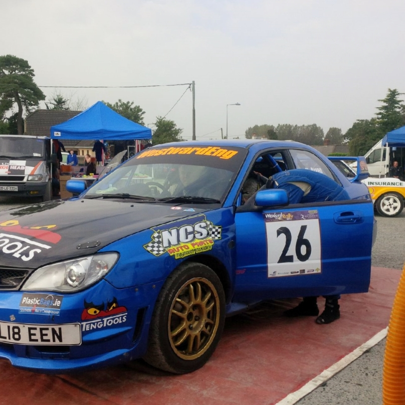 Mark Nangle & Nollaing Breen - Wexford Stages Rally 2014